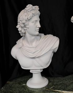 Italian Carved Bust Apollo Faux Marble Interiors Photography Studio Rental, Marble Interior, Marble Bust, Court Dresses, Hotel Interiors, Apollo, Hand Carved, Sculptures, Drawing Rooms