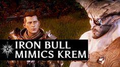 Dragon Age: Inquisition - Iron Bull mimics Krem in the Fade
