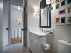 Guest Bathroom Pictures From HGTV Smart Home 2014 : HGTV Smart Home : Home & Garden Television