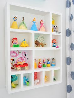 Young House Love - One young family + one old house = love. - Part 4 DIY Tiny Toy shelves