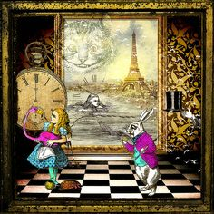 Alice Ignores The White Rabbit And All Advice Regarding Time