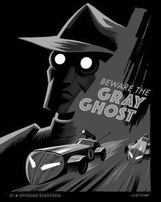 "Batman the Animated Series Episode 18 ""Beware the Gray Ghost"" - George Caltsoudas"