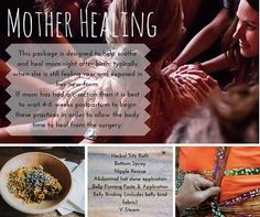 Sacred Postpartum Services: Mother Healing