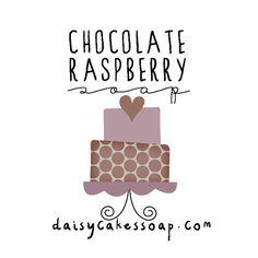 NEW Chocolate Raspberry Soap A Scrumptious Body by daisycakessoap