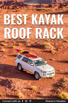 Camper advice for finding the best kayak roof rack for a jeep, suv, crossover or truck. 5th Wheel Travel Trailers, Fifth Wheel Trailers, Truck Bed Extender, Kayak Roof Rack, Camping In Illinois, Suv 4x4, Jeep Suv, Camper Van Conversion Diy, Roof Rails