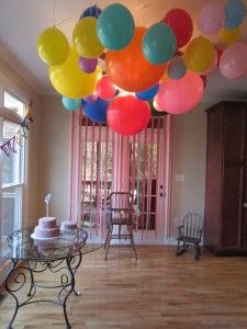 Perfectly round balloons