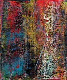 Gerhard Richter  Abstract painting   Werkverzeichnis: 660  Öl auf Leinwand
