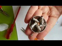 Nespresso Windrad Anhänger - Upcyclingschmuck selber machen - YouTube