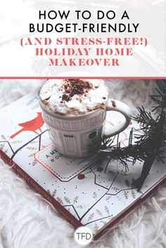 How To Do A Budget-Friendly (And Stress-Free!) Holiday Home Makeover Budgeting Finances, Budgeting Tips, Ways To Save Money, Money Saving Tips, Paying Off Credit Cards, Money Challenge, Minimalist Christmas, Travel Money, Money Matters