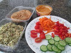 Sunny prepared a healthy meal. #BiggestLoser