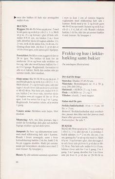 Albumarkiv - Jeg strikker dukketøj Baby Born, Album, Patterns, Ribe, Velvet, Pictures, Card Book