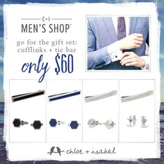 Great Fathers Day gifts for Dad!  Shop at www.chloeandisabel.com/boutique/lilye