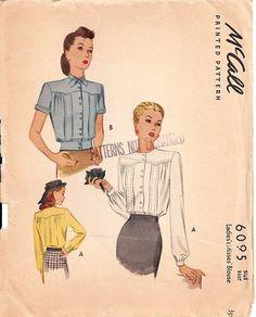 McCall 6095, 1945