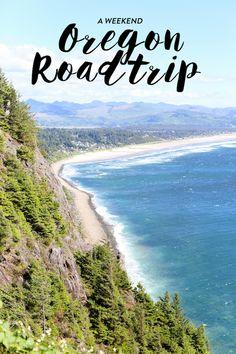 a weekend guide: oregon road trip.