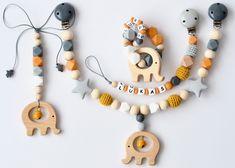 Kinderwagenketten - Kinderwagenkette+Maxi Cosi Anhänger+Beissring - ein Designerstück von TinyDreams bei DaWanda