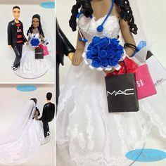 #noivinhospersonalizados ❤️ #futebol ⚽️ #flamengo #profissões #enfermagem  #compras  #Mac #melissa #caraarteembiscuit #caketopper #weddinginvitation #vestidodenoiva #noiva #noivos #noivinhosdobolo #casamentos #noivinhosdiferentes #wedding #weddingcake #bolodecasamento #enfeitedebolo #biscuit #biscuitpersonalizado #love #buqueazul  Orçamento: caraarteembiscuit@yahoo.com.br, ou envie uma mensagem inbox na página https://facebook.com/caraarteembiscuit