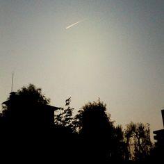 飛行機雲 - @comfy- #webstagram #cloud #sky