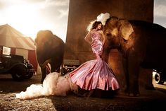Circus Fashion Editorial | Photography by Kristian Schuller