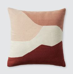 Las Artes Pillow : Modern Abstract Throw Pillows in Desert Tones Modern Throw Pillows, Throw Rugs, Accent Pillows, Decorative Pillows, Throw Pillows For Couch, Colorful Throw Pillows, Geometric Throws, My New Room, Sheep Wool