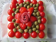 Výborná syrovo-šunková torta (fotorecept) Thing 1, Vegetables, Cooking, Food, Kitchen, Essen, Vegetable Recipes, Meals, Yemek