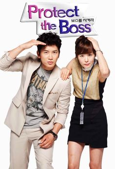 Protect the boss. Funny :)