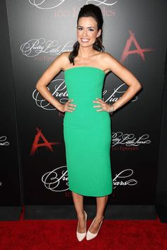 Torrey DeVitto at Pretty Little Liars 100th Episode Celebration Party in Hollywood...