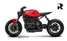 "Ottonero Cafe Racer: ""K"" / R Moto design"