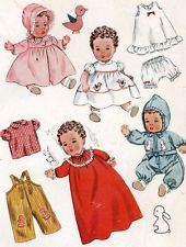 """tiny tears clothes.  two sizes:  12"""" and 14"""".  thank you, j"""