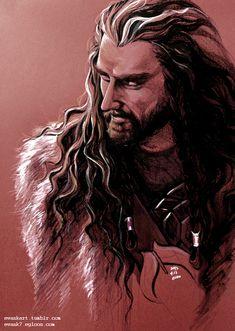 Thorin Oakenshield by evankart.deviantart.com on @deviantART