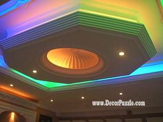 22 Modern POP false ceiling designs latest catalogue 2015
