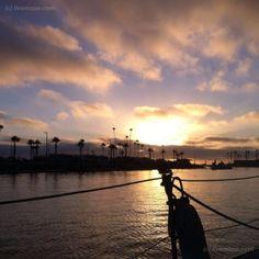 Sunset in Oceanside, CA  livemapped by @mmeyer004