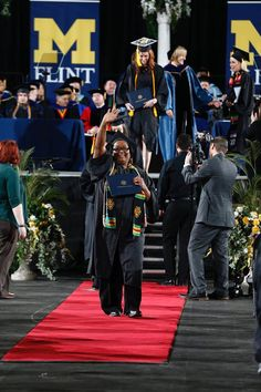 Commencement Ceremony at University of Michigan-Flint