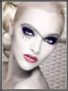 theatrical fantasy makeup -