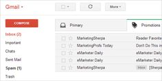 Gmail's New Tabbed Inbox Affects Open Rates