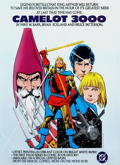 Camelot 3000 Ad (Brian Bolland)