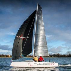 It's a bit cold, but good for a day-sail on a Pulse 600