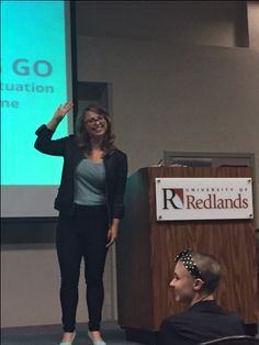 """Award-winning sex education activist Laci Green, one of TIME Magazine's """"30 Most Influential People on the Internet,"""" was the keynote speaker during RAINN (Rape, Abuse and Incest National Network) week at the University of Redlands."""
