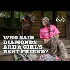 A dog and a gun are a real country girl's best friend! Real Country Girls, Country Girl Life, Country Girl Quotes, Country Music, Southern Quotes, Girl Sayings, Southern Girls, Country Sayings, Southern Belle