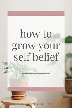 Learn how to grow your self belief so you can achieve ANYTHING you really want. Learn to take any desire you have for your life and figure out how to make it reality. Letter To Yourself, Trust Yourself, Live For Yourself, Finding Yourself, The Power Of Belief, Mindfulness Practice, How To Gain Confidence, Emotional Intelligence, Journal Prompts