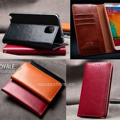 KLD-Flip-Genuine-Leather-Wallet-Stand-Cover-Case-For-Samsung-Galaxy-Note-3-N9000
