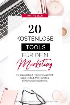 20 kostenlose Marketing Tools - eine Übersicht