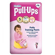 Great Value Huggies Pull-Ups Potty Training Pants for Girls Size 4 Small 8-15kg (16) Huggies http://www.amazon.co.uk/dp/B00X87HVZ4/ref=cm_sw_r_pi_dp_IqPpwb0ZYGNCJ