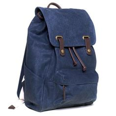 Denim snap Backpack by Everlane