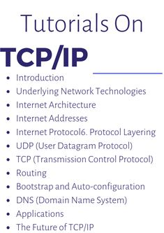 Introduction, Internet Architecture, Internet Protocol, & Others free tutorials Computer Networking Basics, Computer Basics, Education Information, Information Technology, Computer Programming, Computer Science, Transmission Control Protocol, Networking Tutorial, Writing Code