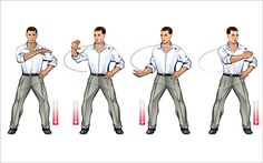 simple Qi Gong exercise: coiling recharge
