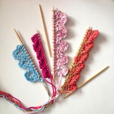 Fancy Edges With Stitches You Already Know - Creative Knitting Updates - March 30, 2017 - Vol. 14 No. 4