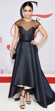 CFDA Awards 2015 Best Red Carpet Looks - Vanessa Hudgens from #InStyle