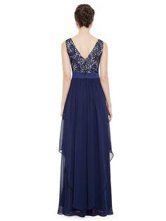 Amazon.com: Ever Pretty Elegant Sleeveless Round Neck Evening Party Dress 08217: Clothing