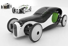 Novague eco car concept is an environmentally friendly vehicle based on the characteristics of old Czech Laurin & Klement, a pre-war car manufacturer.
