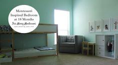 Montessori Bedroom at 18 Months--TMM3